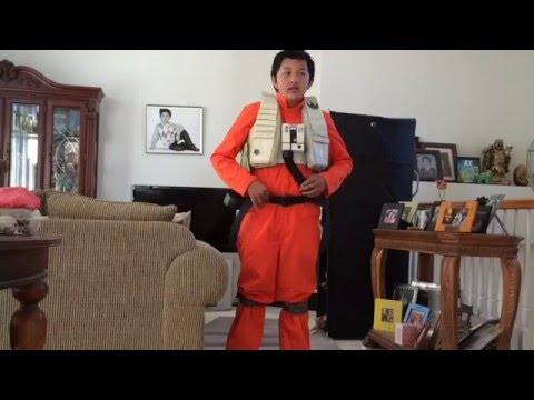 Poe Dameron Costume Tutorial