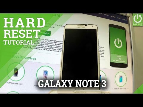 SAMSUNG Galaxy Note 3 Hard Reset / Android Format / Delete Data
