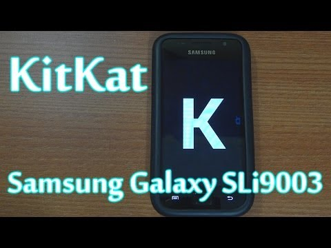 How to install KitKat 4.4 on Samsung Galaxy SL i9003 (CM11)