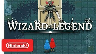 Wizard of Legend Launch Trailer - Co-op Spell-Slinging Action - Nintendo Switch