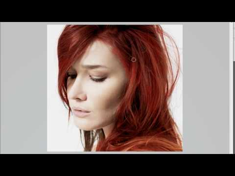 Photoshop CS5 Tutorials:Beginners: Change Hair Color