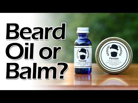 Beard Oil or Beard Balm?  Using Both.