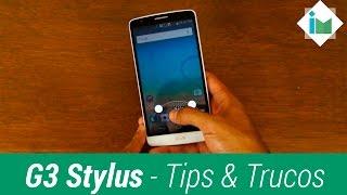 LG G3 Stylus - Tips y Trucos