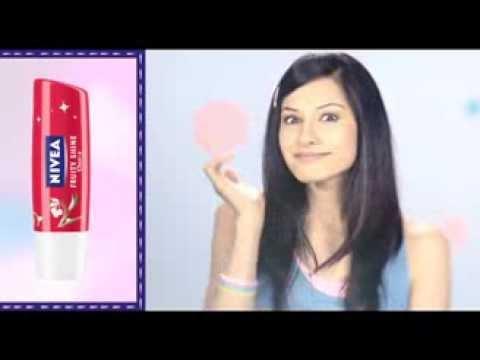 NIVEA's Fruity Shine Cherry Lip Care Kiss and Make Up Video