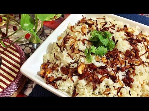 Ghee Rice in Pressure Cooker
