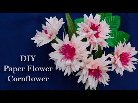 how to make paper flowers for valentine's day