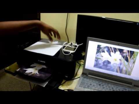Demo & Review - Photo Printing with Canon Pixma E510