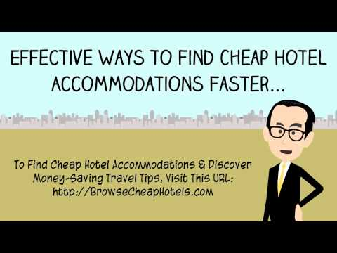 How to Get Cheap Hotel Accommodations | Discover Money-Saving Travel Tips