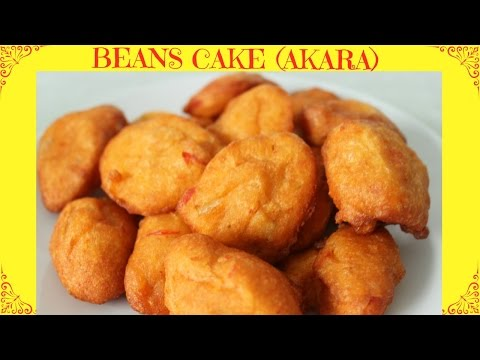 How to Fry Akara | Beans Cake | Acaraje | Nigerian Street Food