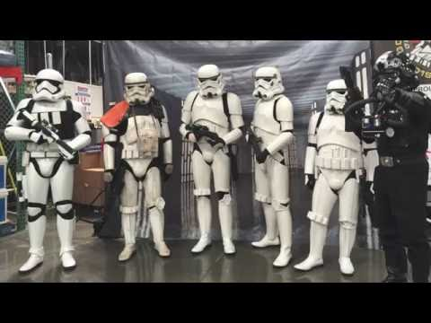 501st GGG Fundraising Troop at Costco Livermore, CA