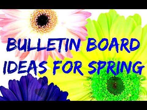Bulletin Board Ideas For Spring !
