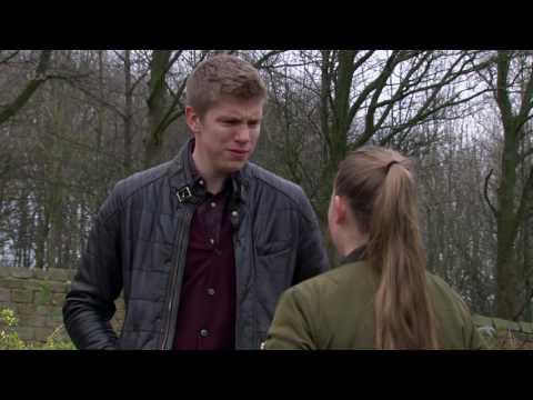 Liv Tells Robert That Aaron Has Been Doing Drugs in Prison - Emmerdale
