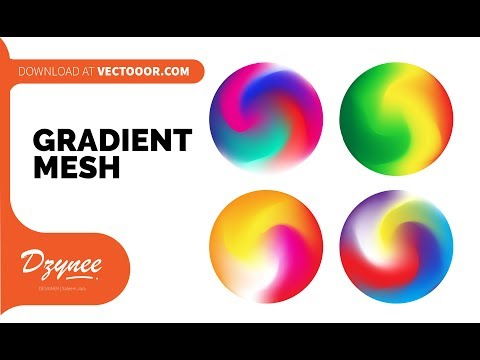 Gradient Mesh Color Play