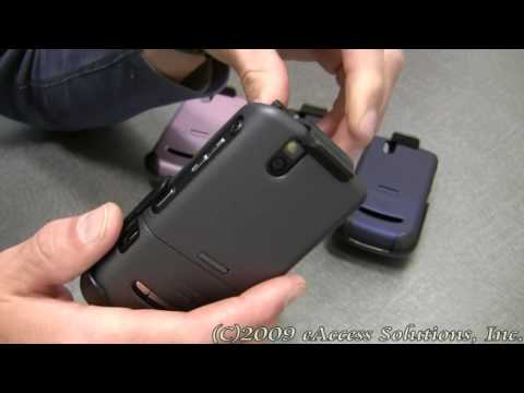 Rubberized Case and Holster for BlackBerry Tour 9630