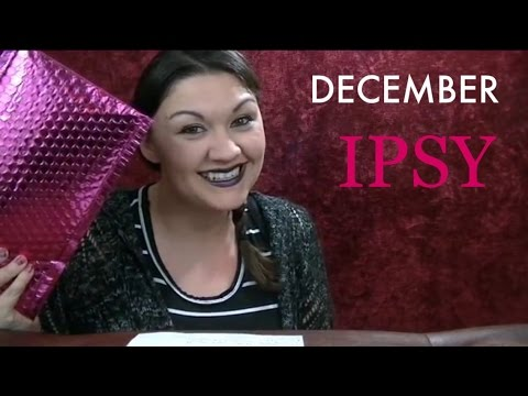 Ipsy December 2016 Beauty Makeup Monthly Subscription Glam Bag Review Video