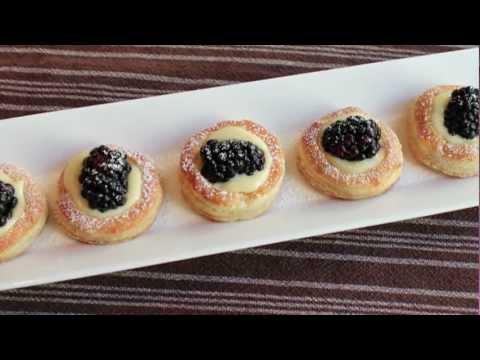 Lemon Berry Tartlets - How to Make Easy Mini Lemon Tarts