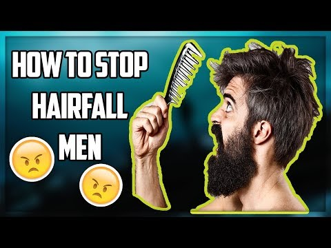 What causes Hair fall in Men and How to Stop Hair Fall ??★TheRealMenShow★