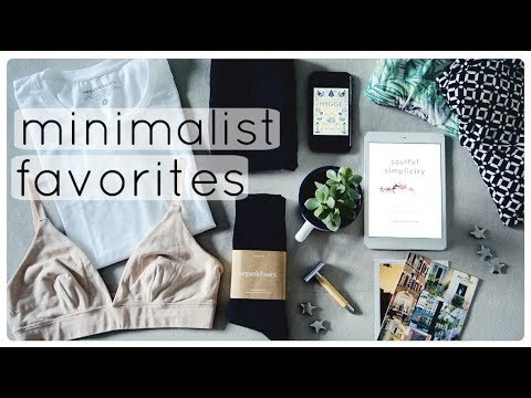 Minimalist current favorites #2 | Minimalism frugal living & zero waste