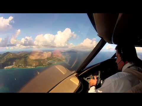 Approach and Landing at BVI