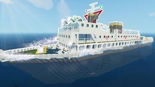 SINKING THE NEW CARGO SHIP & HINDENBURG! - Floating Sandbox