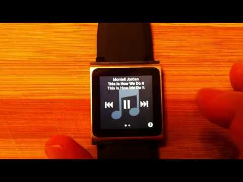 iPod Nano Watch Problem (won't open to clock app)