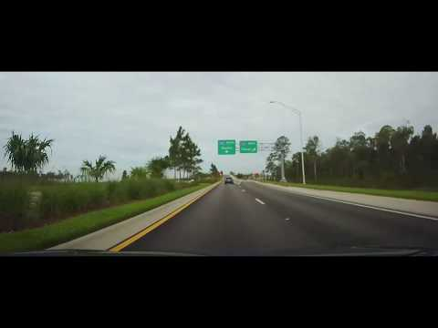 Driving around Inside Southwest Florida International Airport - Fort Myers