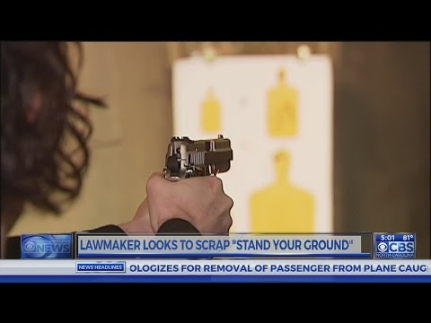 NC lawmakers seek to repeal parts of state's 'Stand your ground' law
