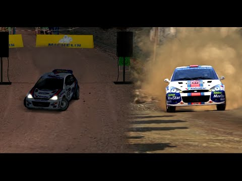 Dirt Rally vs Colin McRae Rally 2.0 - Side by side comparison