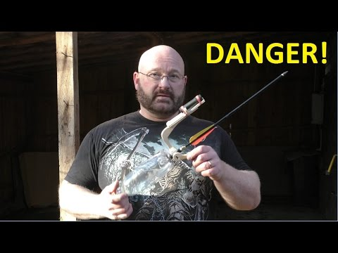 How to turn a Coke bottle into a deadly arrow airgun