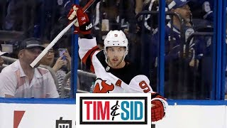 Taylor Hall not feeling pressure of being NHL