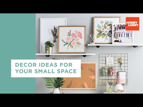 Style Your Small Space