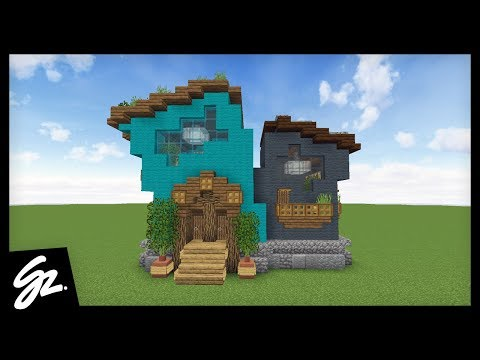 COOL SURVIVAL .. HOUSE?! - How To Build A House in Minecraft