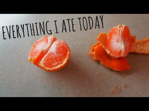EVERYTHING I ATE TODAY TO LOSE WEIGHT