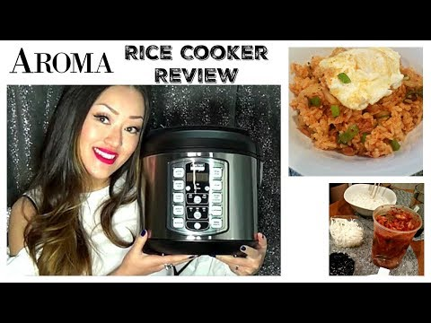 Rice Cooker Review! | Aroma Professional Plus