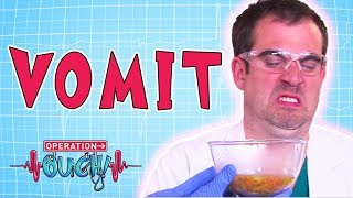 Download Operation Ouch - Vomit | Biology Facts for Kids Video
