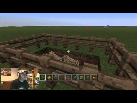 Minecraft Xbox 360 Title Update 12 Ocelot Spawn Egg, Upside Down Stairs And Mob Heads Gameplay