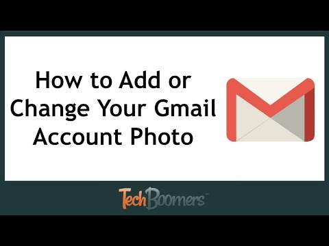 HOW TO CHANGE YOUR PROFILE PICTURE ON GMAIL!! 2018