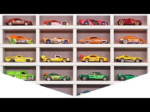 DIY: Fast and cheap displays for toy cars | Полки для машинок из грильято
