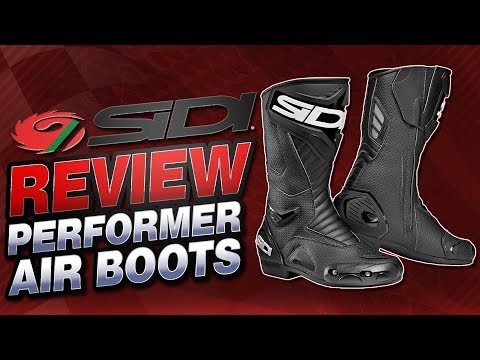 Sidi Performer Air Boots Review | Sportbike Track Gear