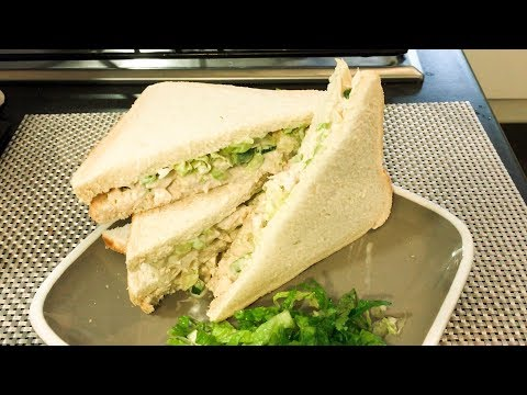 How to make simple and easy Chicken salad sandwich | Hawaiian chicken sandwiches|