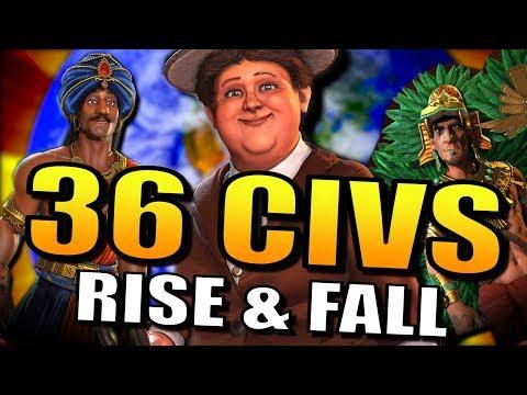 CK2 SUNSET INVASION! [Rise and Fall]   Civilization 6: Civ 6 Gameplay!