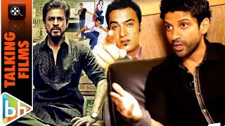 Farhan Akhtar On Raees Trailer | Don 3 | Dil Chahta Hai With Female Cast
