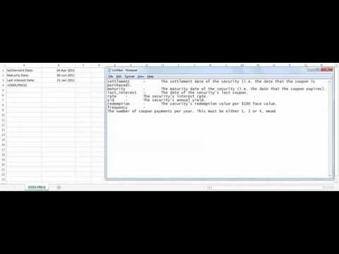 Excel ODDLPRICE function - how to use ODDLPRICE function