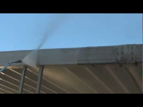 How to Wash a Patio Cover