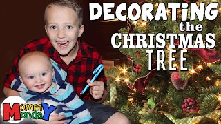 Decorating for Christmas    Mommy Monday