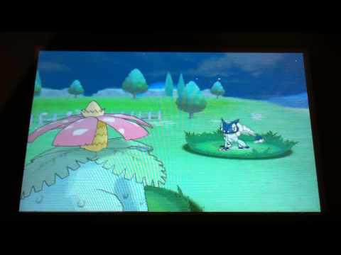 Shiny Frogadier with Hidden Ability Protean Appear in Friend Safari