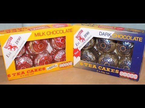 Tunnock's Tea Cakes: Milk Chocolate and Dark Chocolate Review