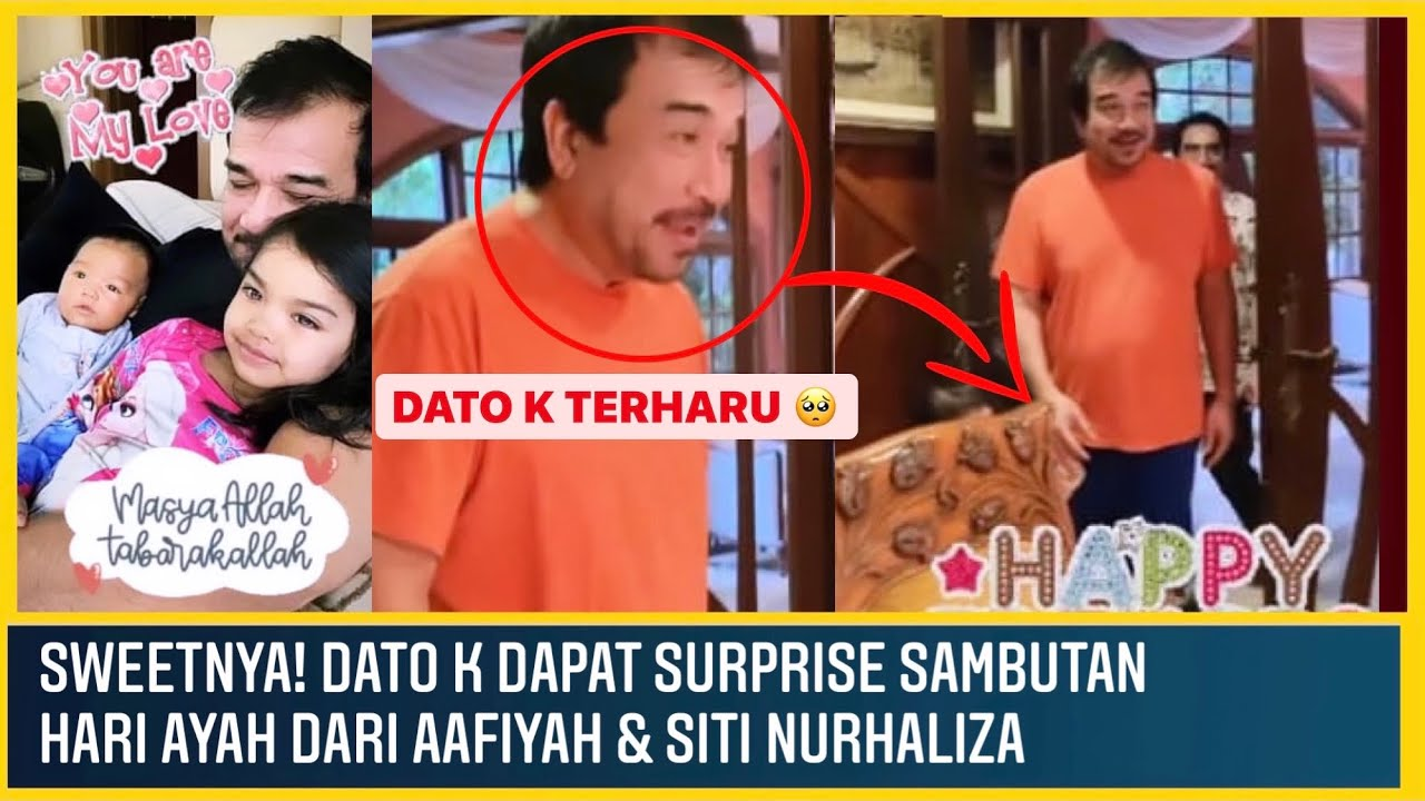 Download Aafiyah & Afwa Surprise Ayah Sempena Hari Ayah | Dato K | Siti Nurhaliza MP3 Gratis