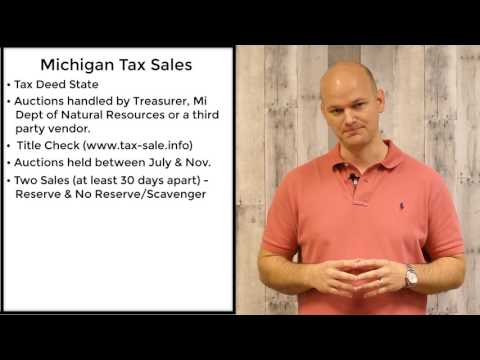 Michigan Tax Sales - Tax Deeds