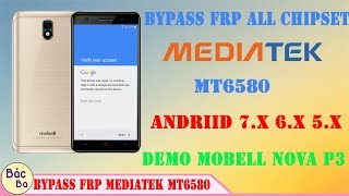 Google Account Bypass All MTK Android Phones (FRP Reset